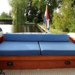 Boot bekleding - achter deck